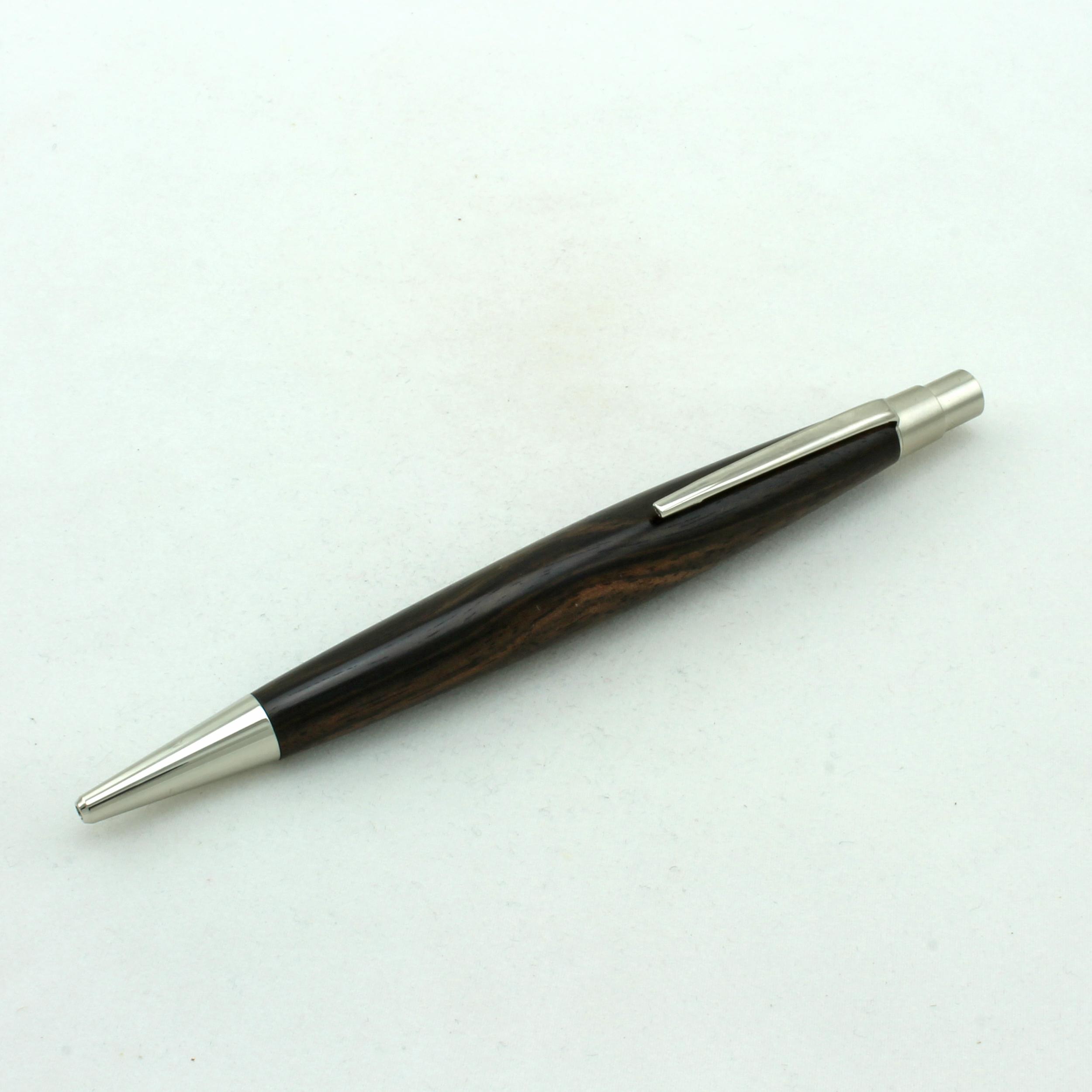 Klick-Kugelschreiber Berlin Makassar Ebenholz