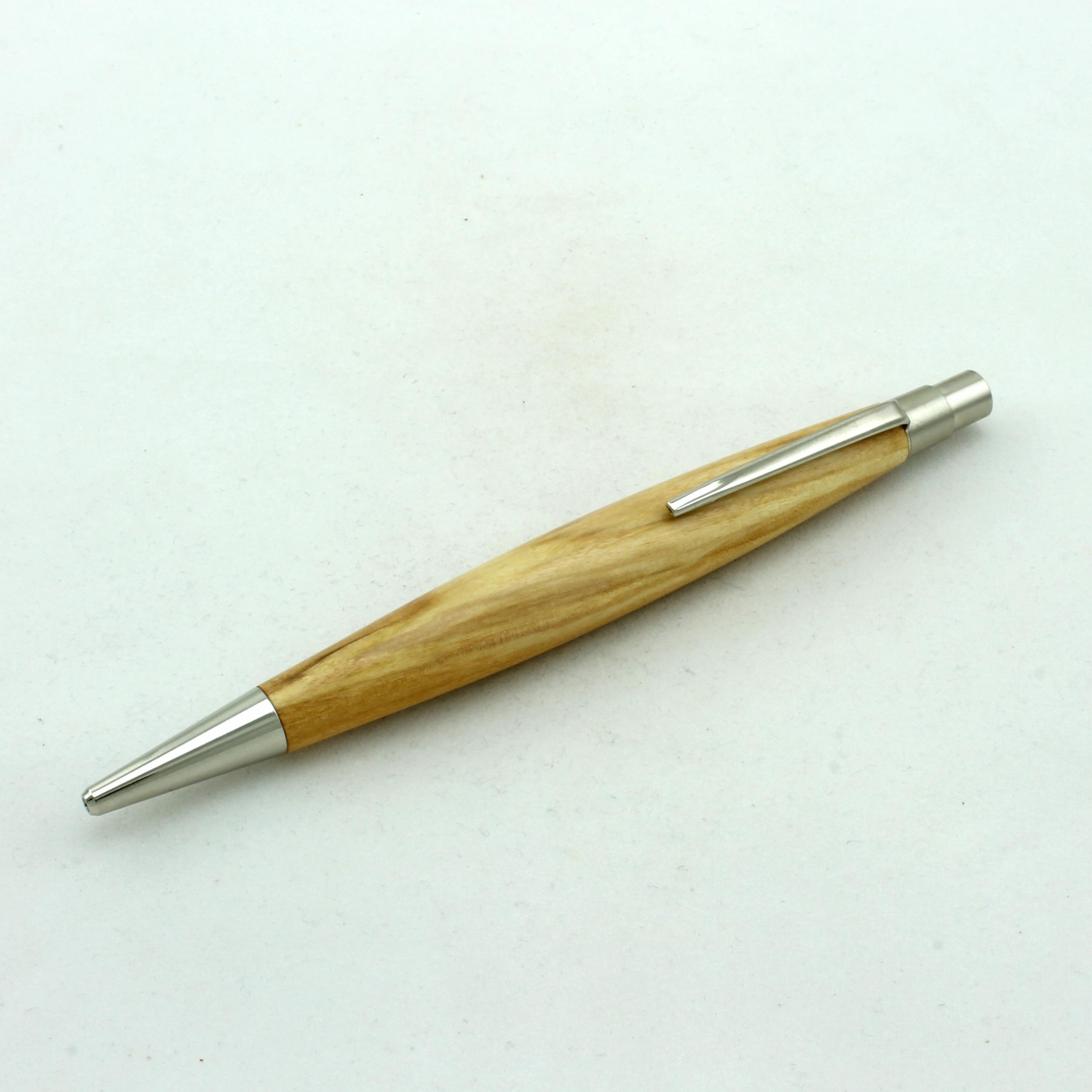 Klick-Kugelschreiber Berlin Weide stabilisiert